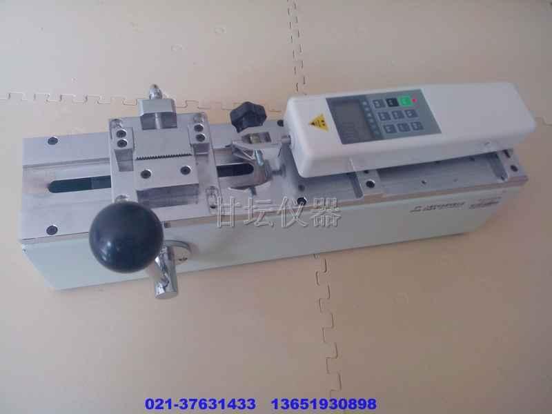 胶条拉力试验机FPH-100N.手动卧式测试机架